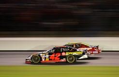 NASCAR - C'est Mears par un nez photo stock