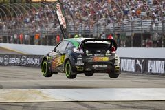 NASCAR: Campeonato global de julho 14 Rallycross Fotografia de Stock