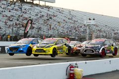NASCAR: Campeonato global de julho 14 Rallycross Imagem de Stock