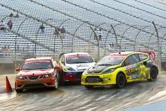 NASCAR: Campeonato global del 14 de julio Rallycross Foto de archivo libre de regalías