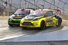 NASCAR: Campionato globale del 14 luglio Rallycross Fotografie Stock Libere da Diritti