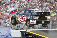 NASCAR: Campionato globale del 14 luglio Rallycross Immagini Stock Libere da Diritti