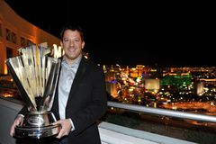NASCAR: Campione di serie della tazza di Sprint \ 's Immagine Stock