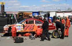 NASCAR - Car Trouble! Stock Photos