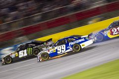 NASCAR: Carl Edwards Blows Up Stock Photo