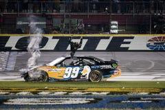 NASCAR: Carl Edwards-rückseitiger leichter Schlag Stockbilder