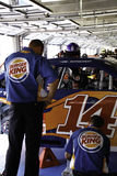 NASCAR - Carro de Tony Stewarts #14 Imagens de Stock