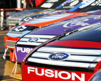 NASCAR - Carros americanos do músculo Imagens de Stock Royalty Free