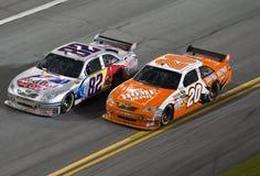 NASCAR: Casco julho de 04 zero 400 Fotografia de Stock Royalty Free