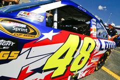NASCAR - champion #48 de cuvette de Sprint de 4 fois Image stock