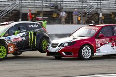 NASCAR : Championnat global du 14 juillet Rallycross Photo stock