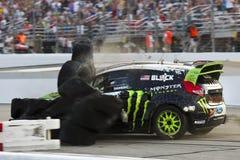NASCAR : Championnat global du 14 juillet Rallycross Image stock