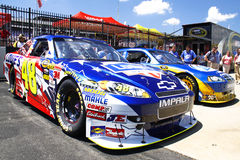 NASCAR - Championship Machines and Teams Royalty Free Stock Photography