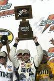 NASCAR-chaufför Elliott Sadler fotografering för bildbyråer