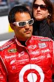 NASCAR-chaufför Juan Pablo Montoya Arkivfoto