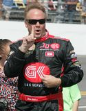 NASCAR-chaufför Mike Wallace arkivfoto