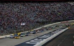 NASCAR: Cidade 250 do alimento agosto de 21 fotos de stock royalty free