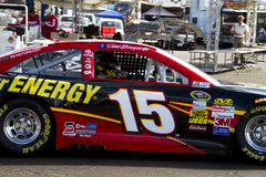 NASCAR Clint Bowyer bij het Internationale Toevoerkanaal van Phoenix Royalty-vrije Stock Afbeeldingen