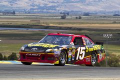 NASCAR: Clint Bowyer Sonoma Royalty Free Stock Photo