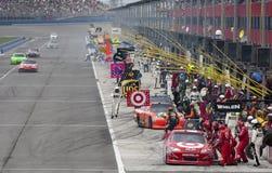 NASCAR : Club automatique 400 du 27 mars images libres de droits