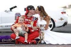 NASCAR: Coalición herida 400 del combate del 24 de julio Imágenes de archivo libres de regalías