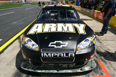 NASCAR - Coca Cola 600 - Newman's Army Chevy Stock Photography