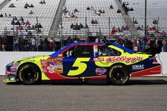 NASCAR - Coche de #5 de Kyle Busch   Foto de archivo