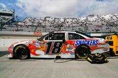 NASCAR - Coche de las risitas de #18 de Kyle Busch Imagen de archivo libre de regalías