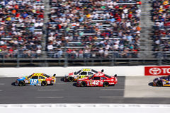 NASCAR - Competência em Martinsville Foto de Stock Royalty Free