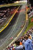 NASCAR - Correndo a Charlotte Fotografie Stock Libere da Diritti