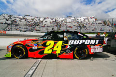 NASCAR - Corsa di Du Pont Chevy del Gordon pre Fotografie Stock Libere da Diritti
