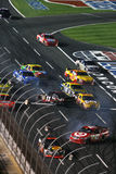 NASCAR - Crash! Stock Image