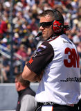 NASCAR - Crew Chief's Watchful Eye Stock Image