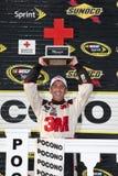 NASCAR: Cruz Roja Pennsylvania 500 del 1 de agosto Sunoco Fotos de archivo libres de regalías