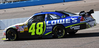 NASCAR cup champion Jimmie Johnson Royalty Free Stock Image