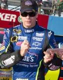NASCAR Cuptreiber Jimmie Johnson lizenzfreie stockbilder