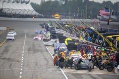 NASCAR: Czerwa 10 FireKeepers kasyno 400 Zdjęcia Stock
