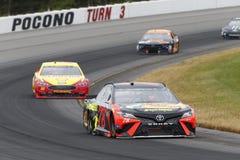 NASCAR: Czerwiec 03 Pocono 400 Obraz Royalty Free