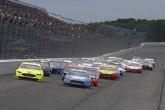 NASCAR: Czerwiec 03 Pocono 400 Zdjęcia Stock