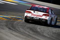 NASCAR: Czerwiec 23 Toyota, Save hala targowa 350/ Fotografia Stock