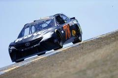 NASCAR: Czerwiec 23 Toyota, Save hala targowa 350/ Obraz Royalty Free