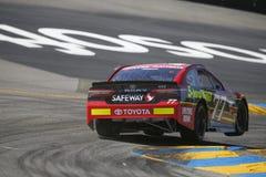 NASCAR: Czerwiec 23 Toyota, Save hala targowa 350/ Zdjęcia Stock