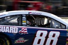 NASCAR Dale Earnhardt Jr. bij het Internationale Toevoerkanaal van Phoenix Stock Foto