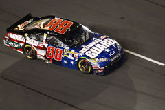 NASCAR -  Dale Earnhardt Jr at the Coca Cola 600 Royalty Free Stock Images