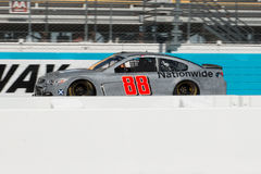 NASCAR Dale Earnhardt Jr. Returns. After a six month absence due to a serious concussion, Dale Earnhardt Jr. returns to his car number 88 for testing sessions at Royalty Free Stock Image