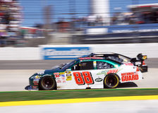 NASCAR - Dale Jr by a Nose! Royalty Free Stock Photo