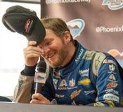 NASCAR-dalEarnhardt jr retur Royaltyfri Bild