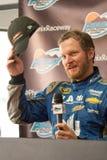 NASCAR-dalEarnhardt jr retur Royaltyfria Bilder