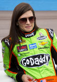 NASCAR Danica Patrick no canal adutor do International de Phoenix Fotografia de Stock Royalty Free