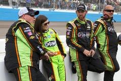 NASCAR Danica Patrick på den Phoenix Internationalkapplöpningsbanan Royaltyfria Foton